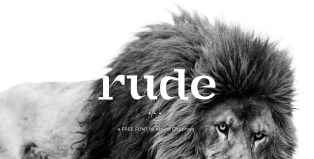RUDE - Free Font