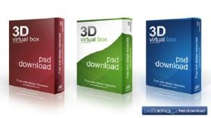 Free 3D Software Box Mockup