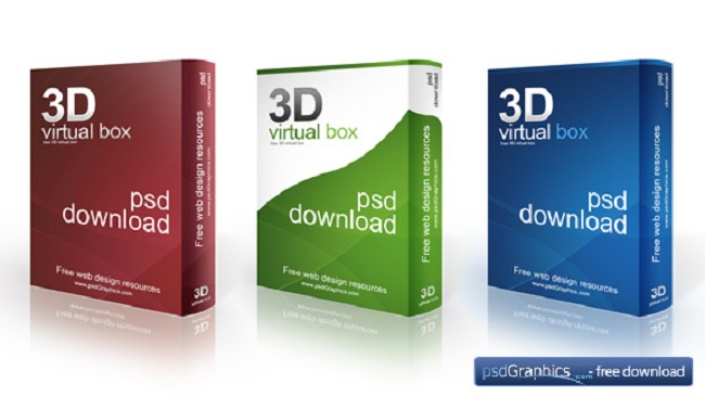 Download 3D Software Box Mockup - OmahPSD