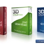 3D Software Box Mockup