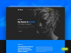 Free Albedo Personal One Page Template by Themefire