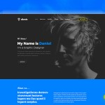 Albedo – Free Personal One Page PSD Template