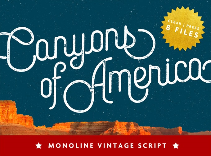Canyons Vintage Script - Free Font