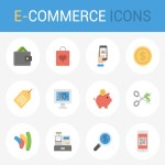 eCommerce Icon Set – 100% Vectors
