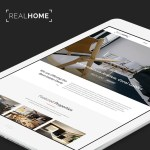 Real Home Website PSD Template