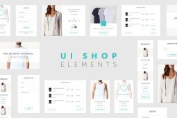 UI Shop Elements by Swiss_cube