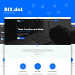 Bix.dot Home Page Template