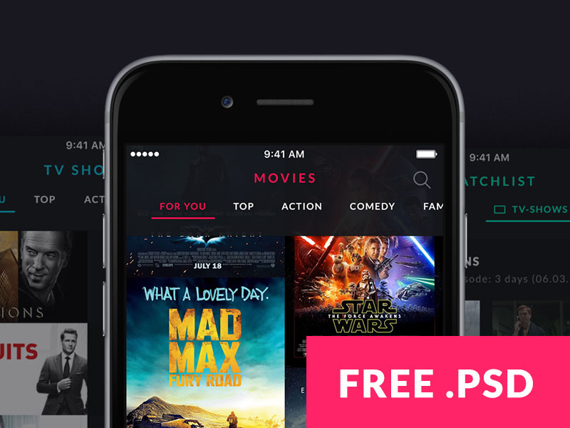 MOOOV - Movie & TV Show App Template