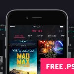 MOOOV – Movie & TV Show App Template