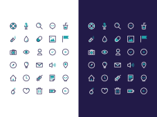BIGU Icon Set by Damien LEGENDRE