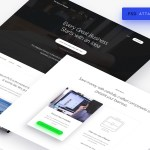 Minimalistic Landing Page Template