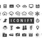 Free 650+ Iconify Icons for Web and Apps (AI, SVG, PNG, ICO, ICNS, and IconJar)