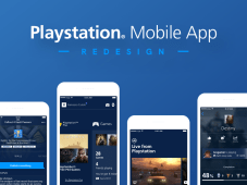 Playstation App Redesign-Free UI Kit