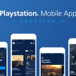 Playstation App Redesign – Free UI Kit (.Sketch)