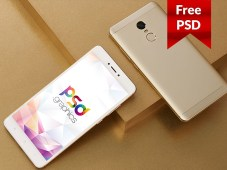 Android Smartphone Mockup Free PSD by PSD Graphics