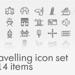 Travelling Icon Set – Free Download
