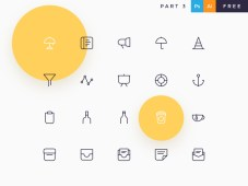 Davi Free Icon Set