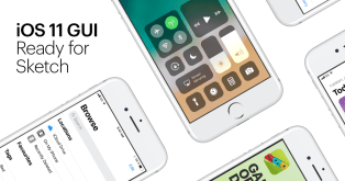 Free iOS 11 GUI for Sketch