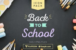 Free Back To School Icon Set