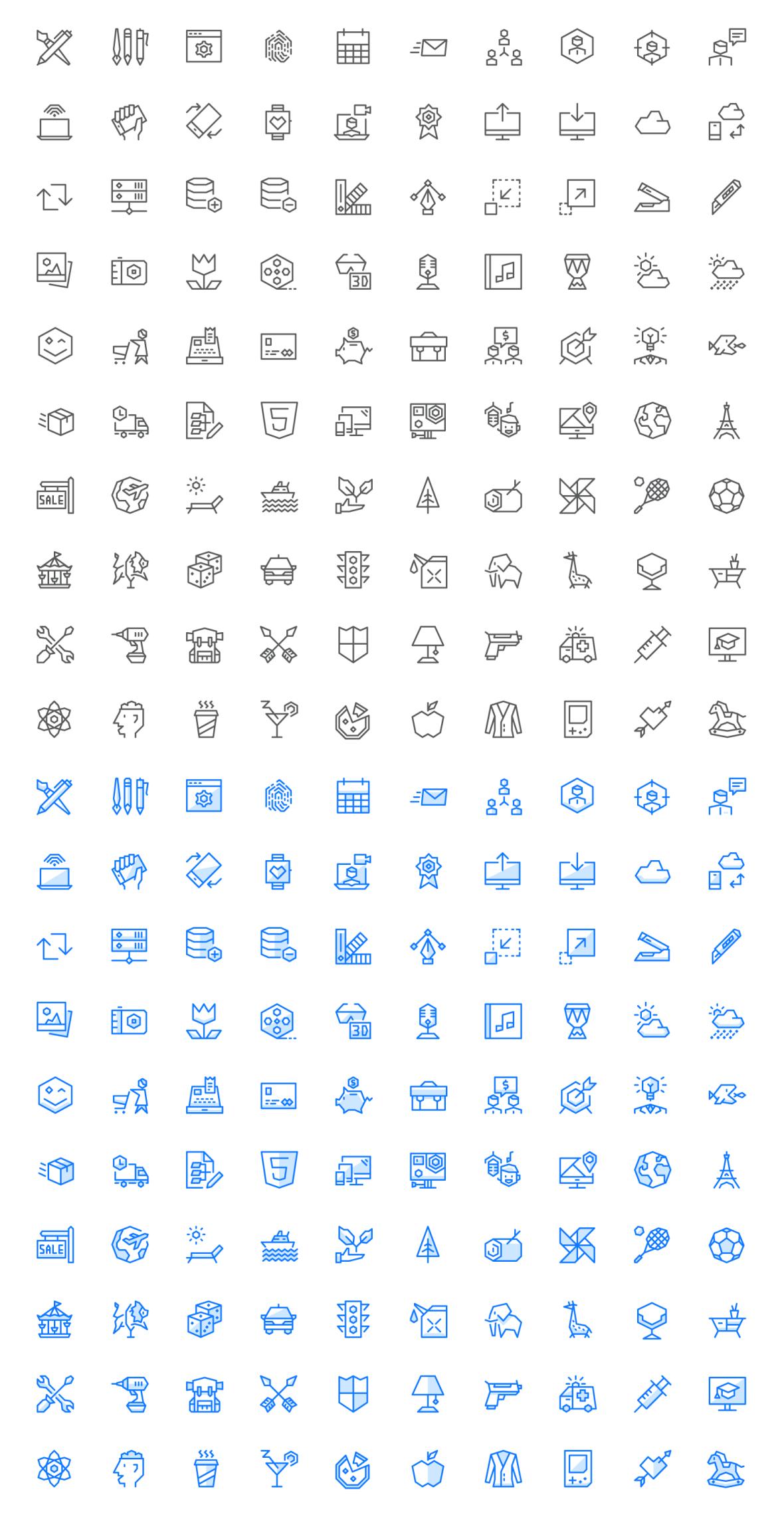 Free 100 Ego Icons