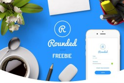 Round Mobile UI Kit Free Demo