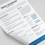 FREE: Malist Resume Template + Cover Letter (PSD)