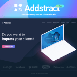 Addstract UI Kit (White & Dark Theme, Sketch)