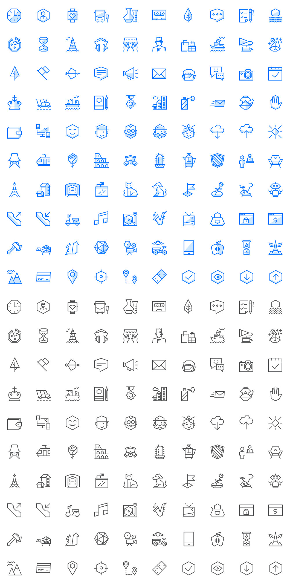 Ego Icons - Free Pack 100 Icons