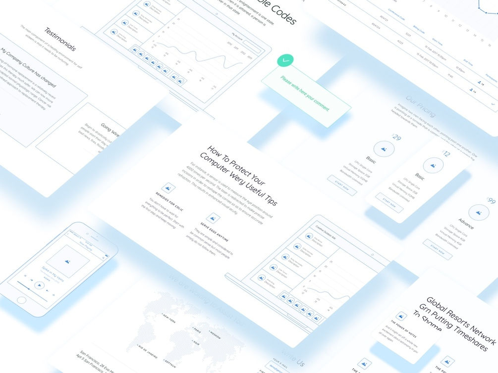 Method Wireframe Kit - Free Demo