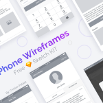 iPhone Wireframes (Sketch)