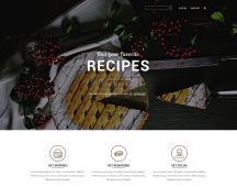 Free Restaurant Food Landing Page
