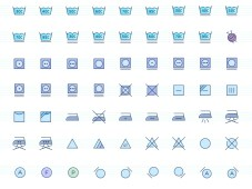 Free Laundry Icons Set