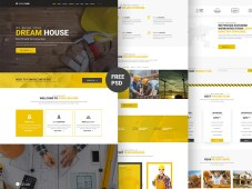 Structure - Construction Website PSD Template