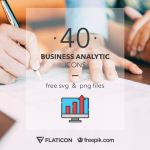 40 High-Quality Business Analytic Icons (SVG & PNG)