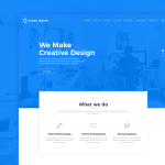 Charu Design – Free Website PSD Template