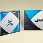 Free Cubic CD Cover PSD Template