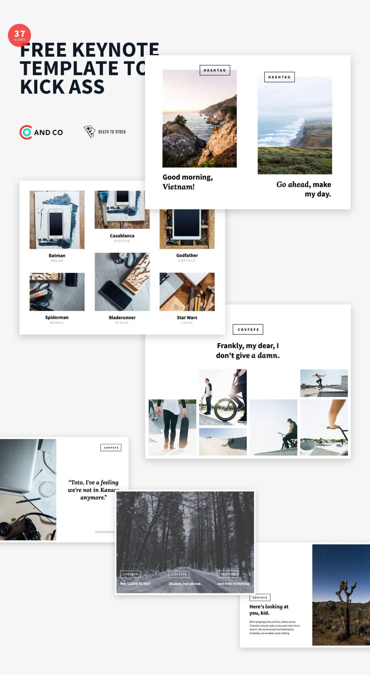 The Deck Stack - Free Keynote Templates