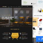 PAHU – Interior Design Website Template
