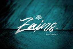 The Zains - Free Typeface