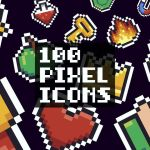 Free 100 Pixel Icons (AI, PNG, SVG)