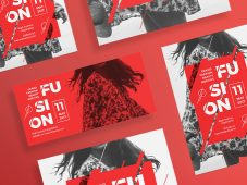 Flashing Red Templates Pack by Amber Graphics