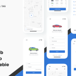 iCab – Cab Booking App (Sketch)
