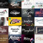 Free 30 Script Fonts