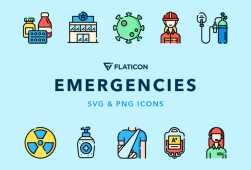 Emergencies Vector Icons