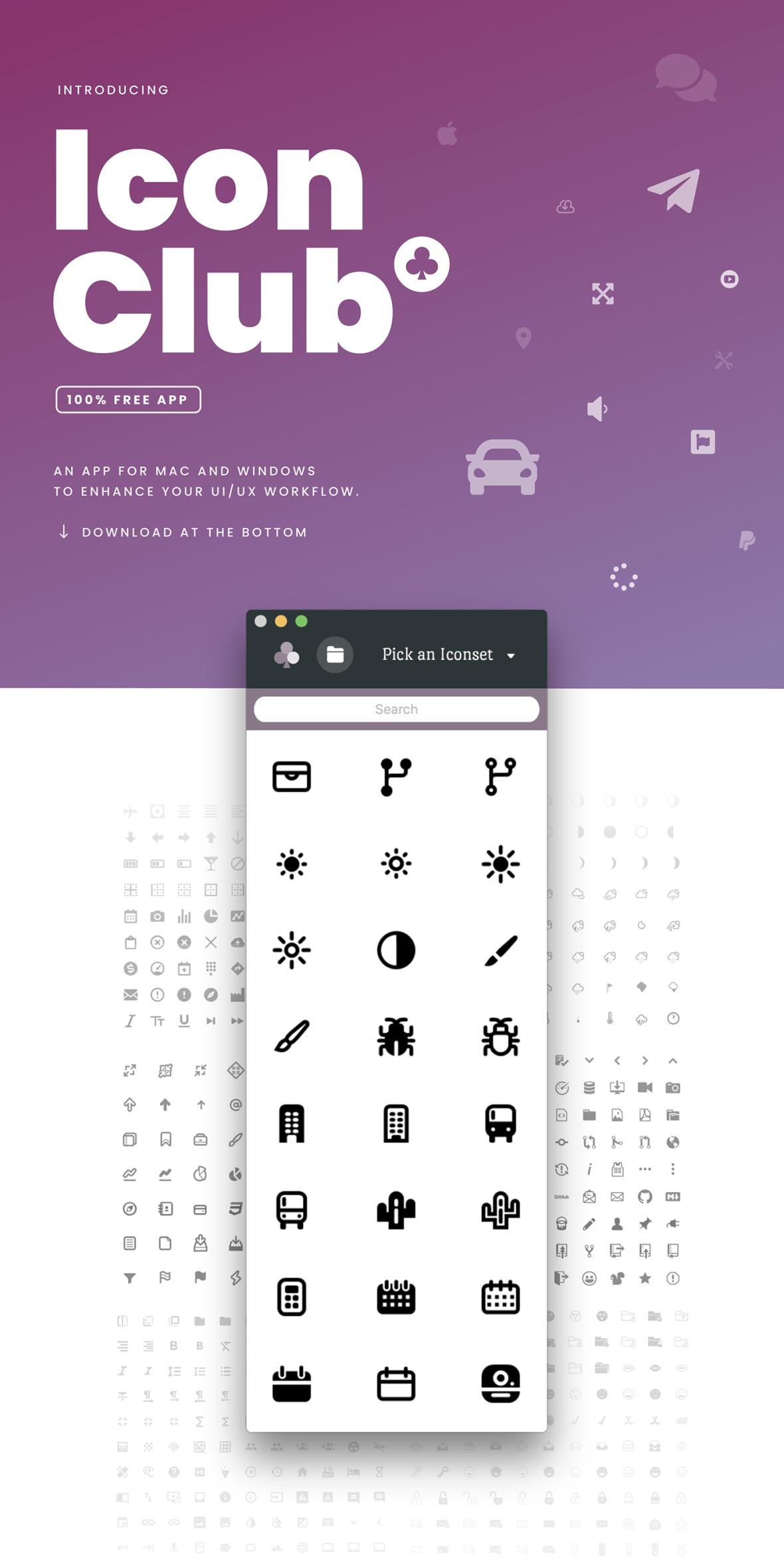 Iconclub Free 8000 icons