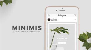 Minimis - Free Social Media Templates