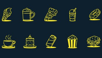 Free Food and Drink Icons Vol. 2