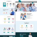 MEDCare – Medical Health Landing Page (PSD)