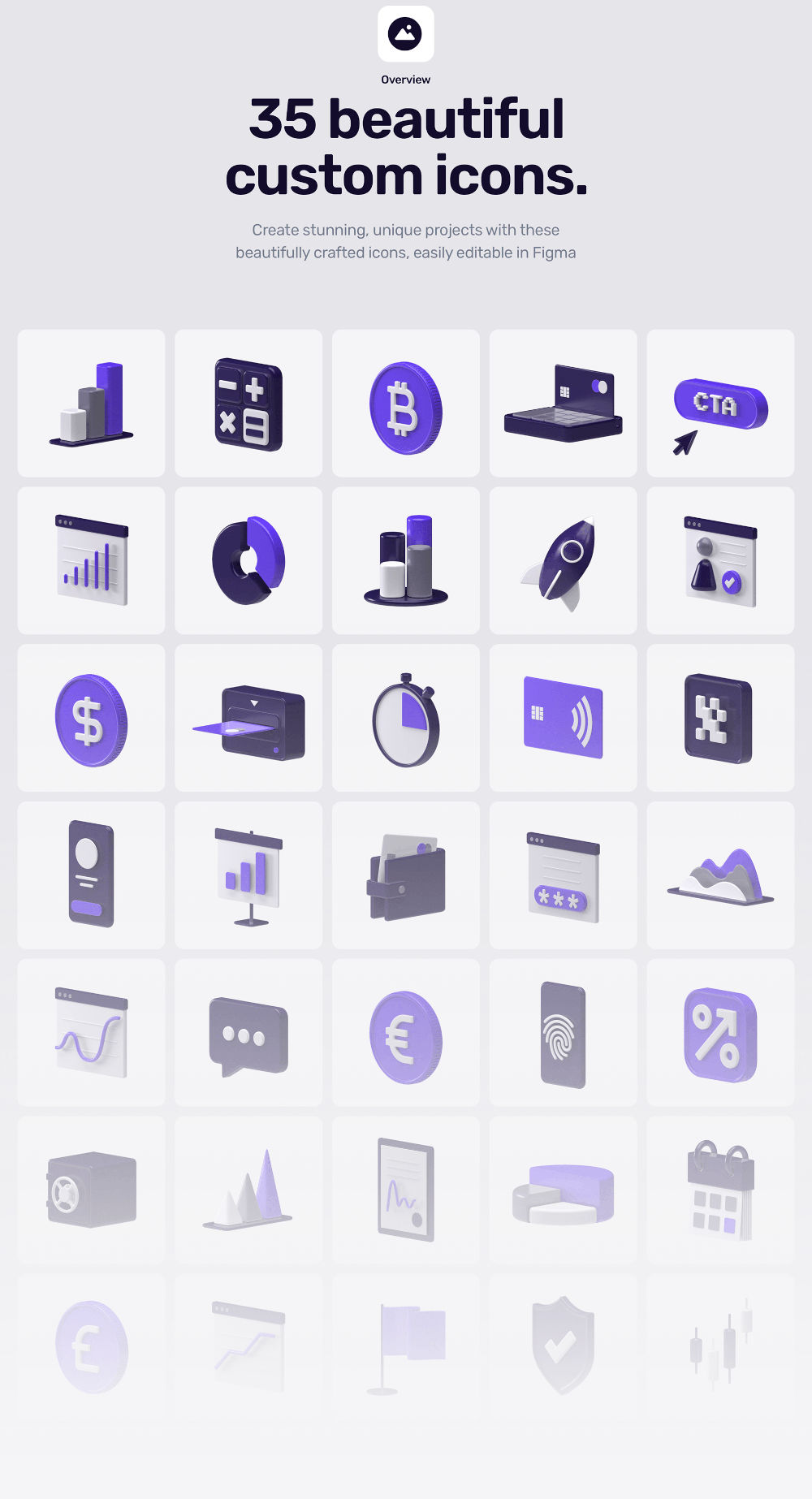 Feenancy 3D Icons Free Demo preview