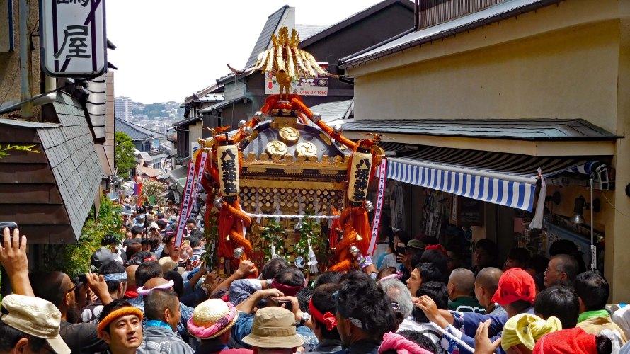 江の島・天王祭~八坂神社例祭・神幸祭2018年~